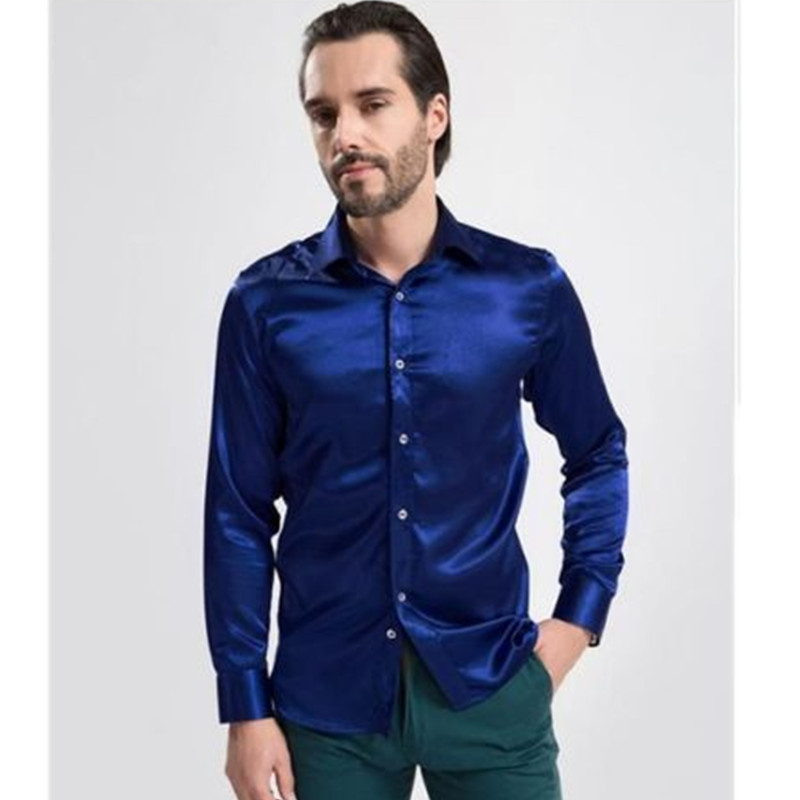 Compare Prices on Silk Shirt Man- Online Shopping/Buy Low Price ...
