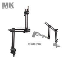 Selens Photo Studio M11-099 três seção titular ajustável braço articulado deslizante sistema de extensão suporte de iluminação accessorires