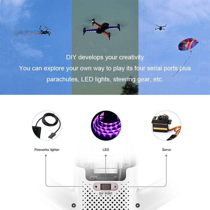 Image 3 - Xiaomi  Fimi A3 Drone HD camera Video recording Multiple Infrared Operations  Multi function Mini UAV GPS & GLONASS system-in RC Helicopters from Toys & Hobbies