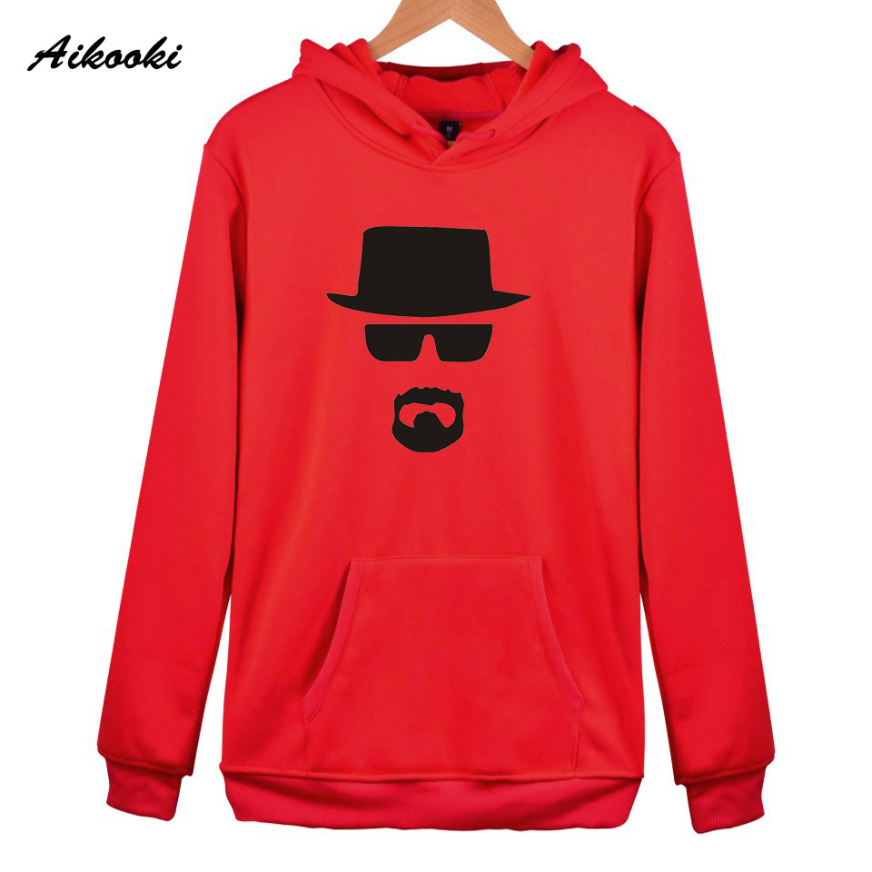 Sweatshirt Heisenberg Hoodies women/men Fashion Aikooki 2018 Casual Winter Sweatshirt harajuku Hoodies Men Heisenberg Hoodie Men