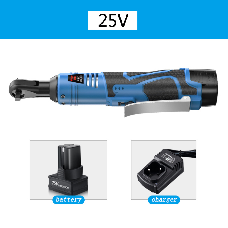 16 8V 25V Electric Wrench Kit 3 8 Cordless Ratchet Wrench Rechargeable Scaffolding 45NM Torque Ratchet