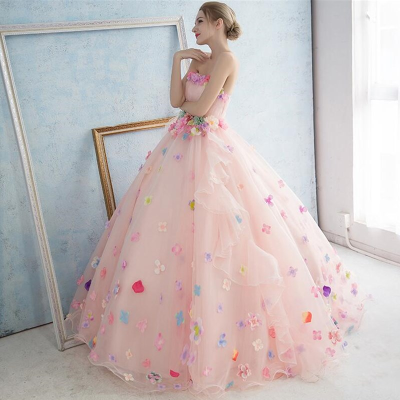 ruthshen Pink Quinceanera Dresses Sexy Strapless Sweet 16 Masquerade Ball  Gowns Cheap Debutante Prom Dresses For Special Events-in Quinceanera  Dresses from ... 1c3729cff0e5