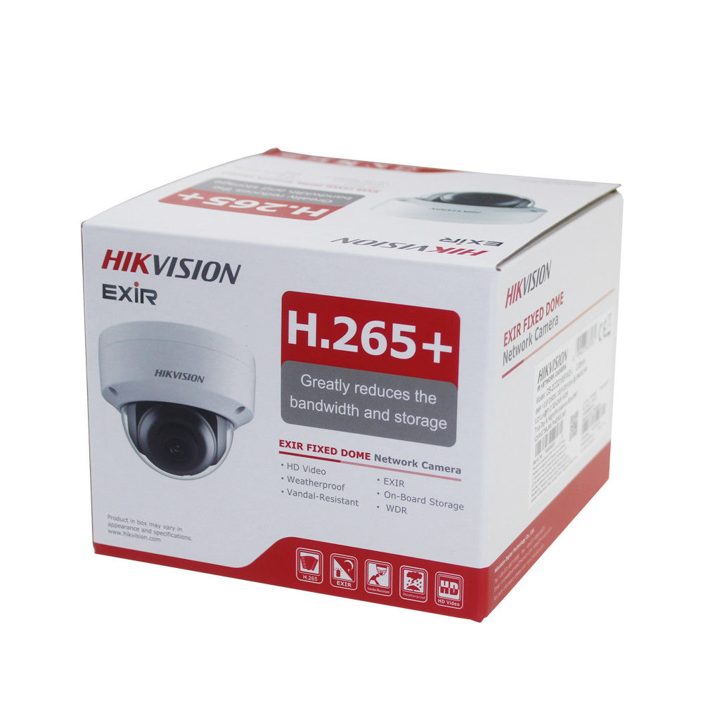 Hikvision 4mp IP camera DS-2CD2143G0-I H.265 poe IP67 replace ds-2cd2142fwd-i security camera 4MP IR Fixed Dome Network Camera