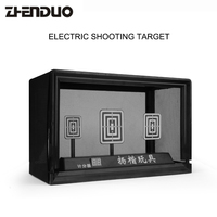 Gun Toy Accessories Electric Shooting Scoring Target 3S Automatic Restore For Electric Bursts Of Water Pistol