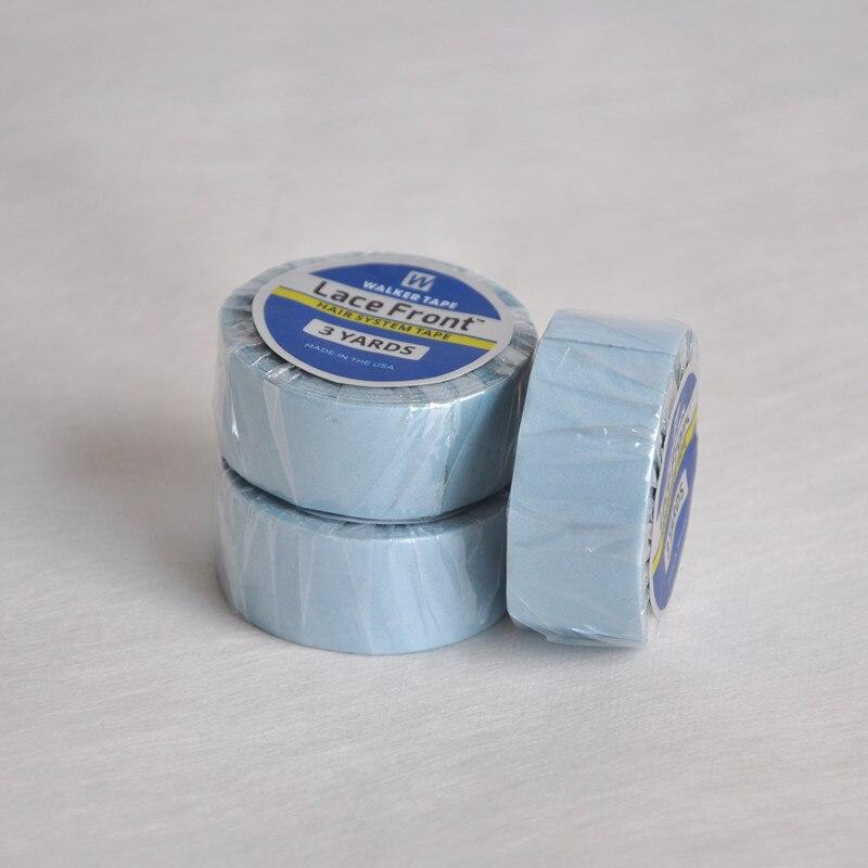 1,9cm (3 / 4inch) * 3yards Starkt Spets Fram Stöd Tape Blue Liner - Hårvård och styling - Foto 5