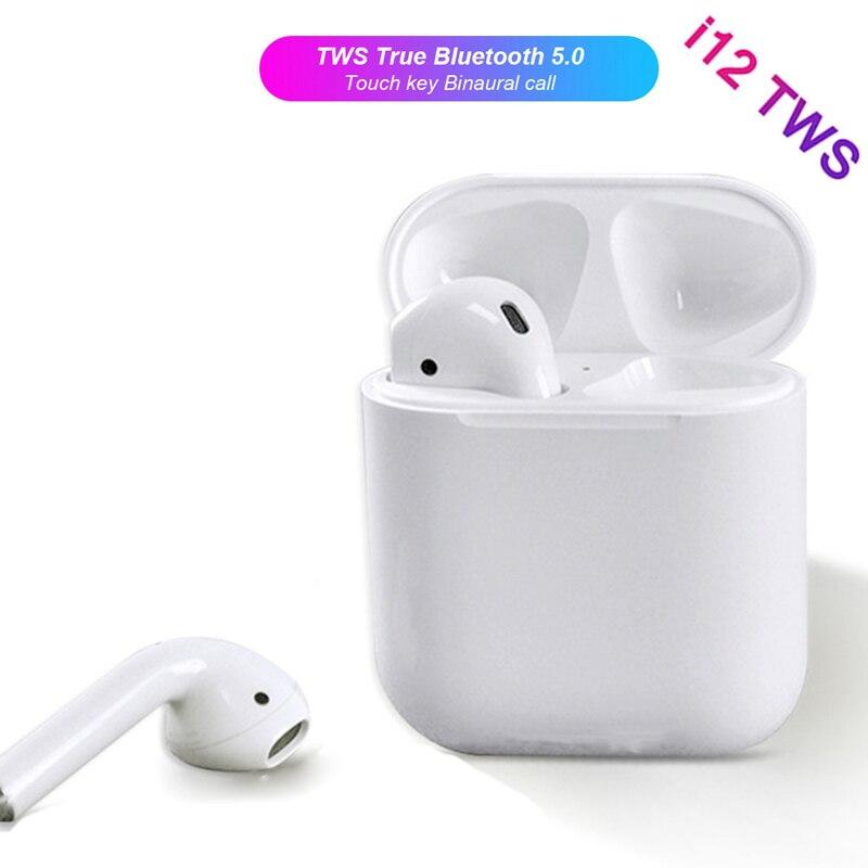 Air Pod i12 TWS PK Air Pods i10 TWS Mini Wi-fi Bluetooth V5.zero Earphone Contact Management Binaural Name Earbuds For dropshipping Bluetooth Earphones & Headphones, Low cost Bluetooth Earphones...