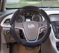 Sanduíche Esporte Tipo macio de camurça Tampa Da Roda de Direcção Do Carro Anti-Slip 38 CM A3 A4 Q5 X7 K3 alta qualidade volante do carro covers