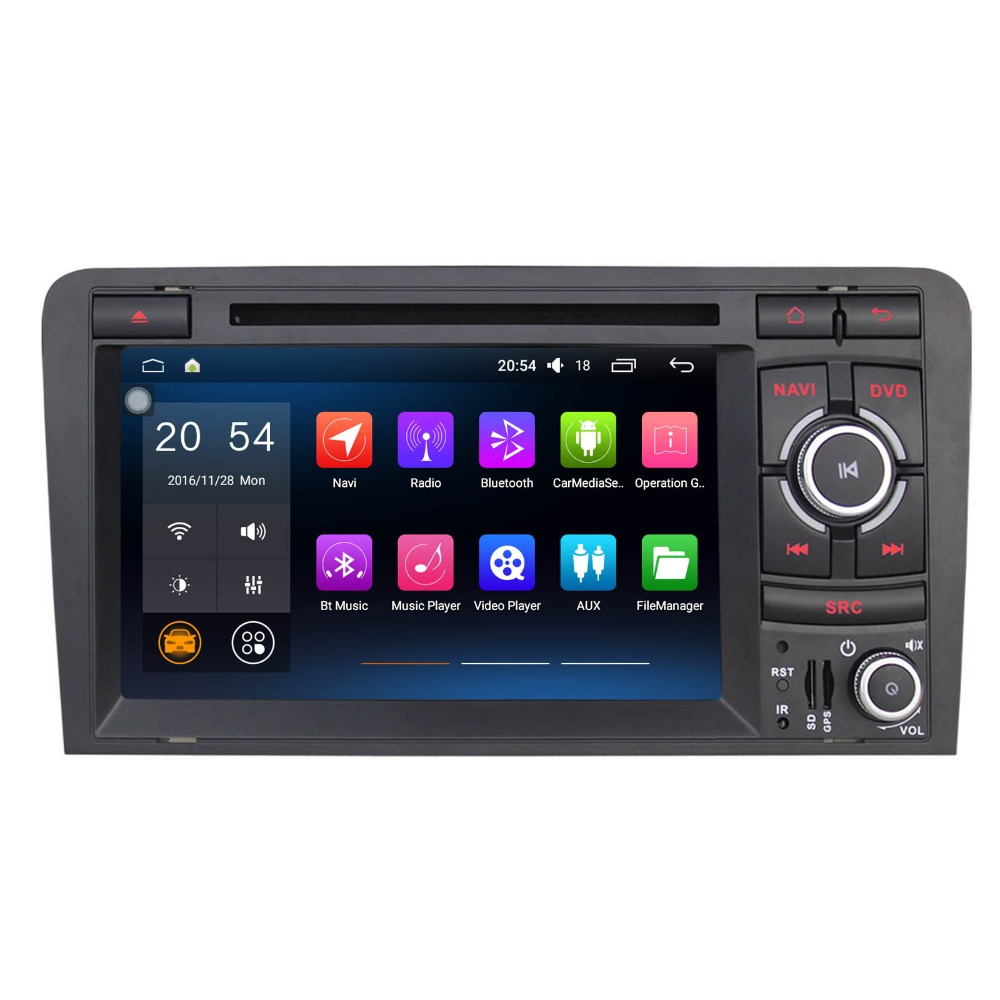7 8 Core Android 80 Car Radio For Audi A3 8p With Symphony Car