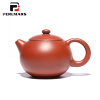 120ML Authentic Yixing Purple Clay Teapot Handmade Health Red Mud Zisha Pot Raw Ore Small Capacity Mini Xishi Black Tea Kettles