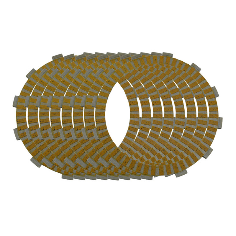 ФОТО Motorcycle Engine Parts Clutch Friction Plates Kit For Harley Davidson Dyna Low Rider EFI FXDLI 2004 2005 2006 #CP-0020