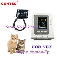 CH&USA warehouse Vet Veterinary OLED digital Blood Pressure & Heart Beat Monitor NIBP CONTEC08A VET