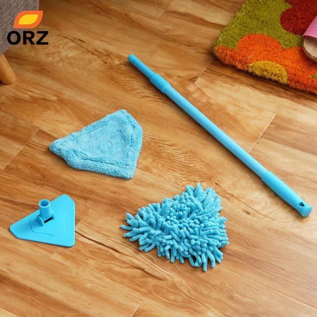 Online Shop ORZ 2PCS Multifunctional Mop Scalable Dust Floor ...