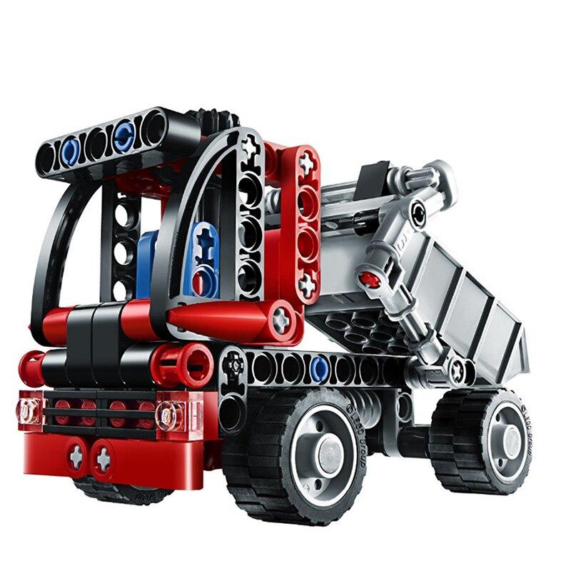 Decool Technic City Series Mini Container Truck Building Blocks Bricks Model Kids Toys Marvel  Compatible Legoe