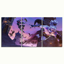 3 Piece GAMING Poster on Canvas for Home Decor F3V3