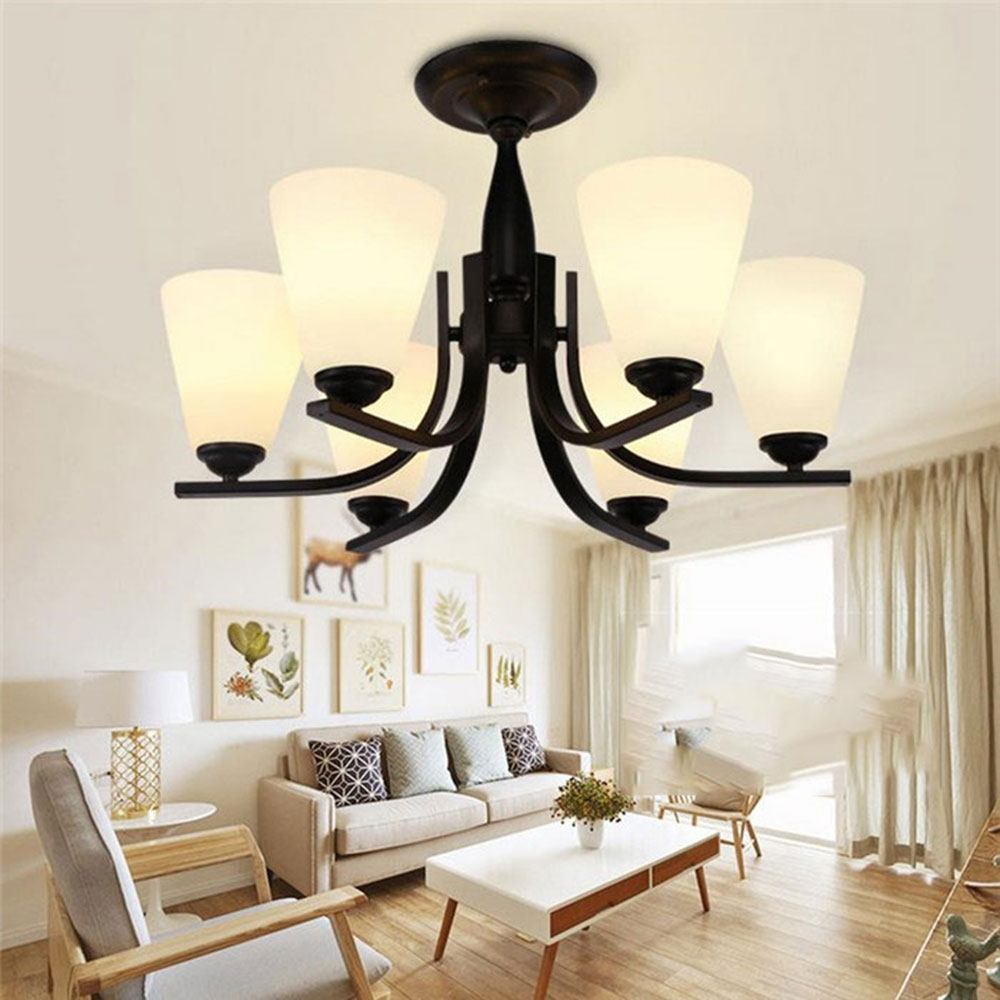 American country wrought iron garden lamps lamps modern for Korean minimalist house