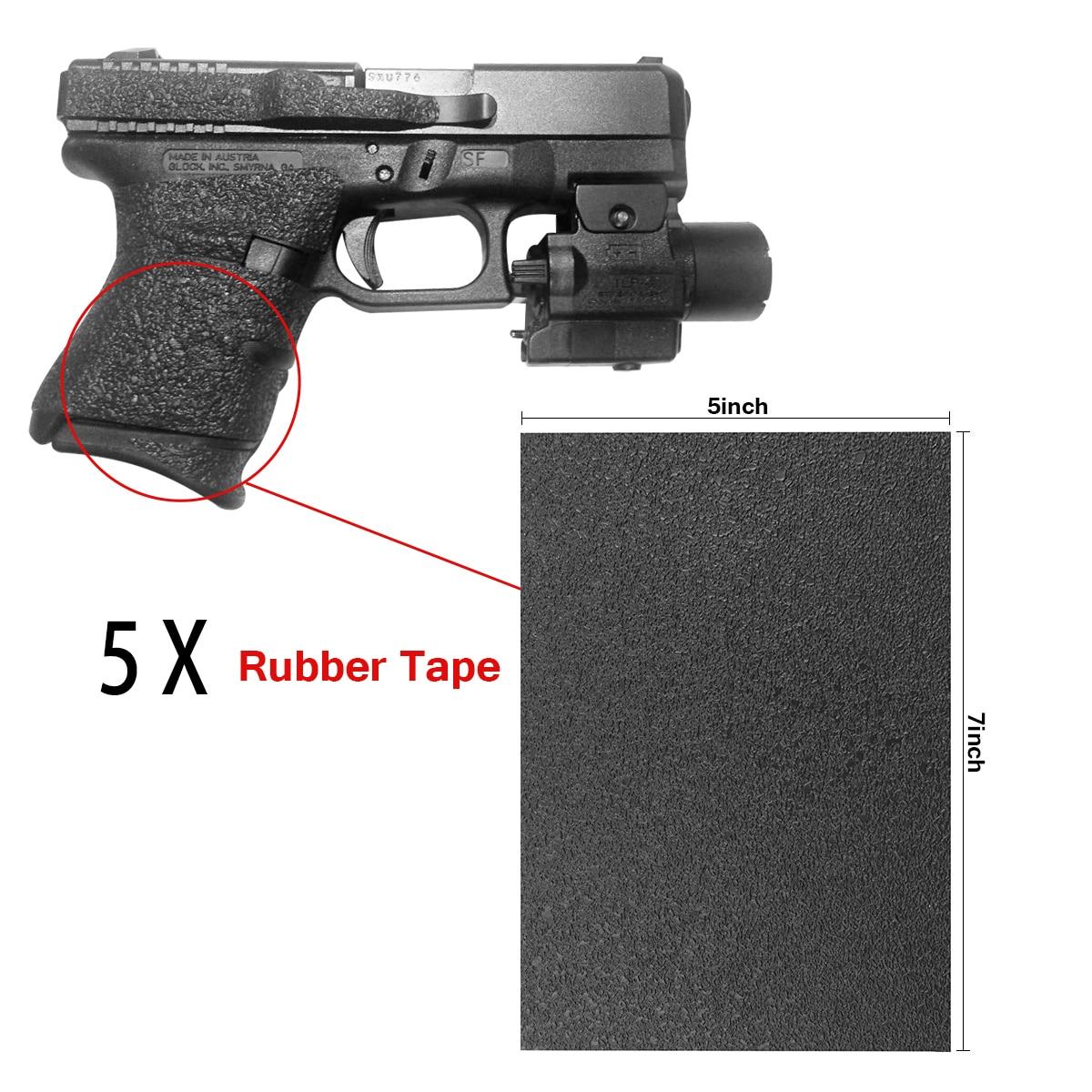 Tourbon Hunting Rifle Bolts Knob Rubber Balls Handle Grips Gun Non-Slip Tactical