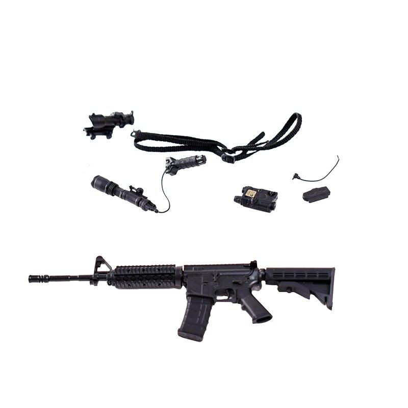 Rare Arms-rack 1//6 Scale Rilfe Gun M4A1 Weapon Box Set 1//6 Black Version