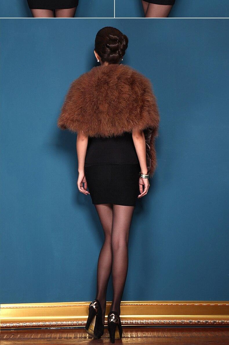 Женская Роскошная шаль из натурального страусиного пера, шаль из пашмины, свадебная шаль, Модный меховой палантин, роскошный шаль, PC15052301