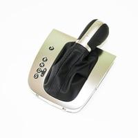 New Original Auto DSG Gear Shift Knob Shift Lever Handball with Dust Cover for V W Golf 6 MK6 G TI GLI J etta MK5 16D 713 203A
