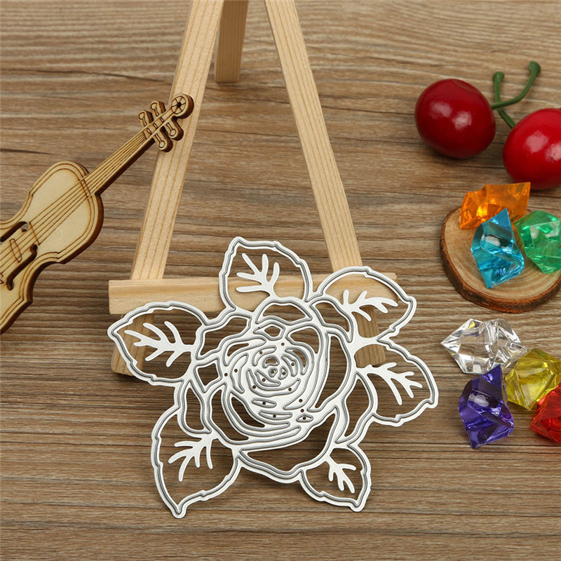 Ferris wheel flower New metal girl railing Cutting Dies box Stencil DIY Scrapbooking Embossing Album Paper Card Craft 2017
