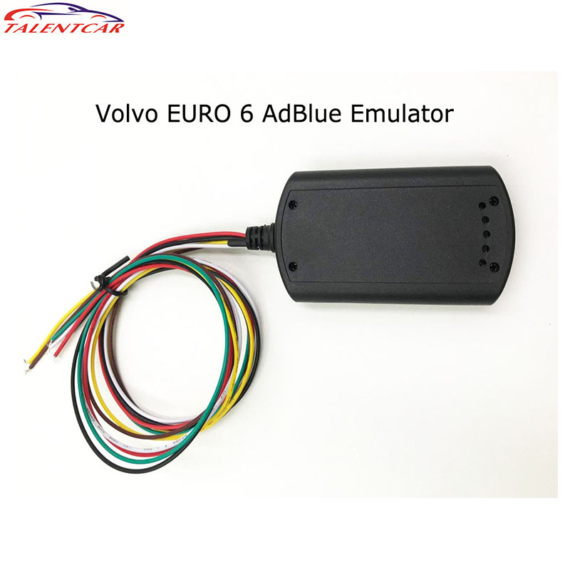 Newest Euro 6 Adblue Emulator With NOX Sensor For Volvo Trucks Support DPF System Adblue Emulator Euro6 programmable usb emulator rs232 interface 15keys numeric keyboard password pin pad yd531 with lcd support epos system