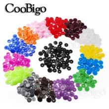 150 наборов T5(12 мм) разноцветные Круглые Пластиковые кнопки для стеганного одеяла, простыни, кнопки для одежды, аксессуары для детской одежды, зажимы