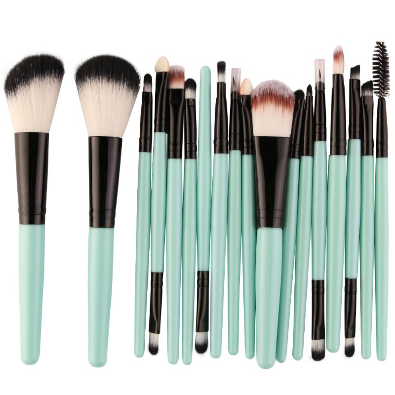 18pcs/Set Makeup Brushes Cosmetic Foundation Powder Blush Eyebrow Lips Brush Pincel Maquiagem Face Make up Brushes 6pcs professional makeup brushes set face blush foundation powder eyeshadow cosmetic make up brush beauty pincel maquiagem tool