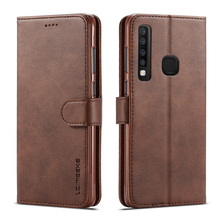 Leather Flip Case For Samsung Galaxy A9 2018 Case a9 s Soft Silicone Wallet Phone Cover Samsung A9 2018 case card slot Coque a9 cb a9 cc