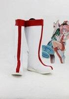 Yu-Gi-Oh! enjeksiyon Peri Zambak Cosplay Çizmeler Ayakkabı Anime Parti Cosplay Boots Custom Made Kadınlar Ayakkabı