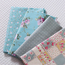 160x50cm  floral Twill Cotton Fabric Printed Cloth DIY Childrens Wear Make Bedding Quilt Decoration Home