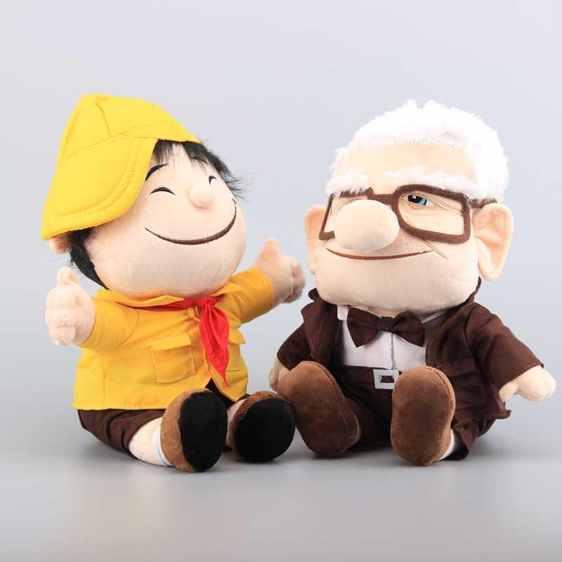 2 Teile/satz Pixar Film UP Carl Fredricksen Opa Carl Plüschtier Russell Weiche...