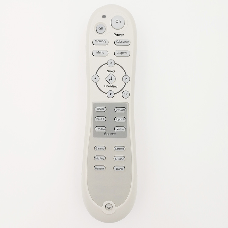 Original Remote Control for EPSON PowerLite Pro Cinema 400 Series 810 550  800 720 1080 Home Theater Projector epson labelworks lw 400