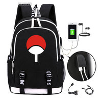 Naruto backpack 2019 Uzumaki Naruto Trendy usb laptop school bag for girls boys teenagers children's cool bookbag