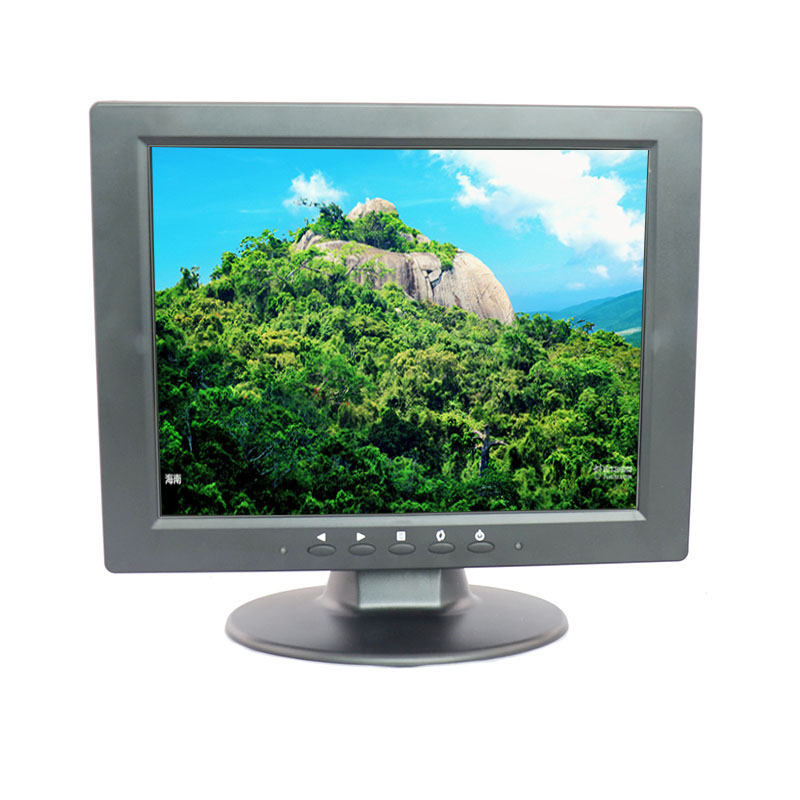 Newest 10.4 inch resistive touch monitor 800*600 screen touch monitor with HDMI/BNC/VGA/AV/USB input