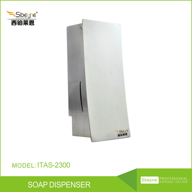 Itas2300 Stainless Steel Manual Soap Dispensers Hotel Room 304 Single Head Dispenser Commercial