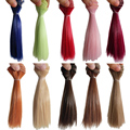1PCS Retail Doll Accessories Synthetic Dolls Hair 15CM BJD Wig Doll DIY