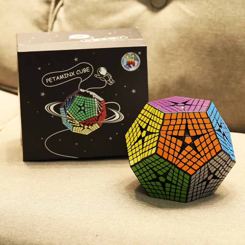 2018 Shengshou Tegaminx Puzzel Cube 12 Gezichten Professionele 8x8x8 PVC & Matte Stickers Cubo Puzzel Speed klassieke Educatief Speelgoed - 5