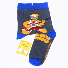 Simpson Cartoon Man women cotton comfortable odorless moisture wicking socks for causal socks free shipping