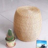 Высокое качество стул из ротанга для отдыха dia32 * h42 см