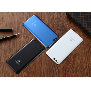 Image 2 - 100%Original XIAOMI Mi6 Mi6 Back Cover Battery Case 3D Glass Housing Cover, Back Door Rear Cover Replacement For Xiaomi Mi6