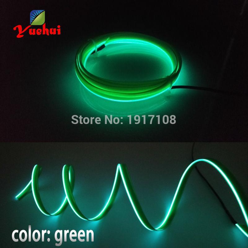 DC12V Inverter With Cigar Lighter 1M Green Neon light 10 COLOR ...