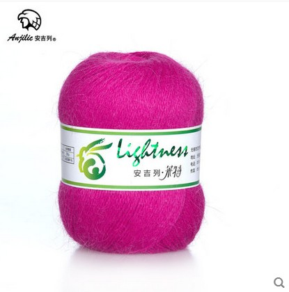 Free shipping 50g/Ball Angora Anti-Pilling Low Shrinkage Thin Yarn For Hand Knitting Crocheting