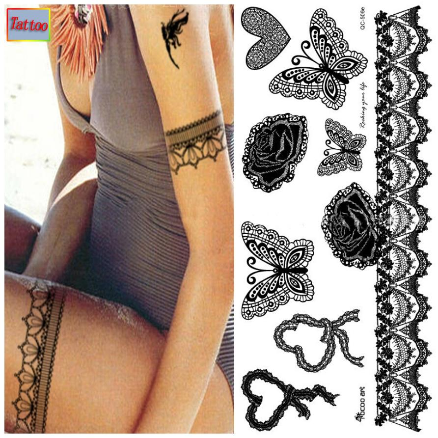 Temporary tattoos Waterproof tattoo stickers body art Painting for ...