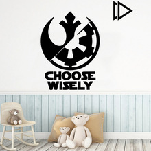 New Design star wars Home Decorations Pvc Decal For Kids Rooms Nursery Room Decor Party Wallpaper