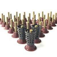 100 cái/bộ New micro khói ống moxibustion dán tự gắn bó Moxa Thống Moxibustion ngay vào huyệt gắn bó moxa nến