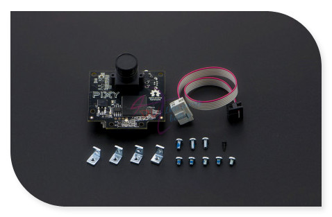 DFRoBot Pixy CMUcam5 Image Recognition Sensor/camera, LPC4330 204MHz Omnivision OV9715 1/4 1280x800 FC-10P cable for Arduino