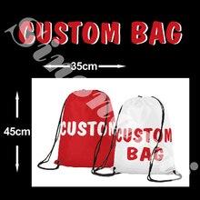 5f21aab3aa6fb Özel Tasarım 35*45 cm Sırt Çantası 110D Polyester Herhangi Bir Logo Tüm  Renk Kraliyet