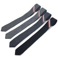 New Hot Sale Man And Woman Cotton Tie Stripe Pattern Groom S Wedding Necktie Fashion Style