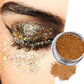 24 Color Diamond Shimmer Eye Shadow Pigment Face Body Glitter Powder Makeup Highlighter Brightens Professional Cosmetics 2g