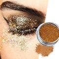 24 Del Diamante Del Color de Sombra de Ojos Shimmer Pigmento Cara Cuerpo Brillo Ilumina Polvo Highlighter Del Maquillaje Profesional Cosméticos 2g